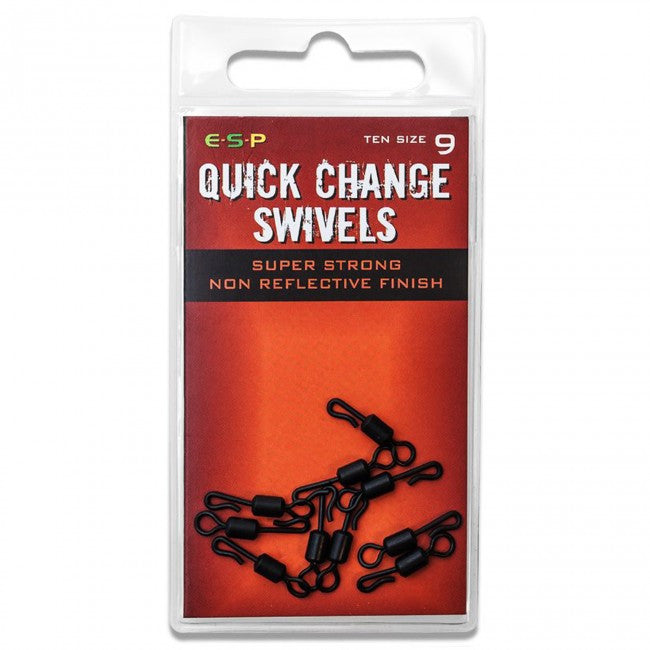 ESP Quick Change Swivels - JL Fishing Tackle