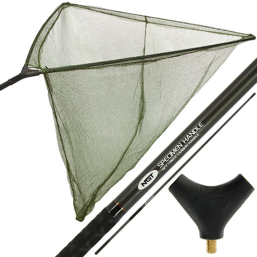 "NGT Deluxe Stalker 42"" Carp Net With Carbon Arms - JL Fishing Tackle"