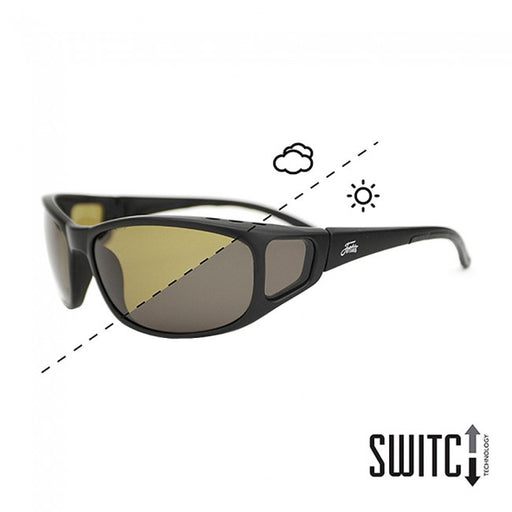 Fortis Brown Wraps Sunglasses - Switch Technology - JL Fishing Tackle