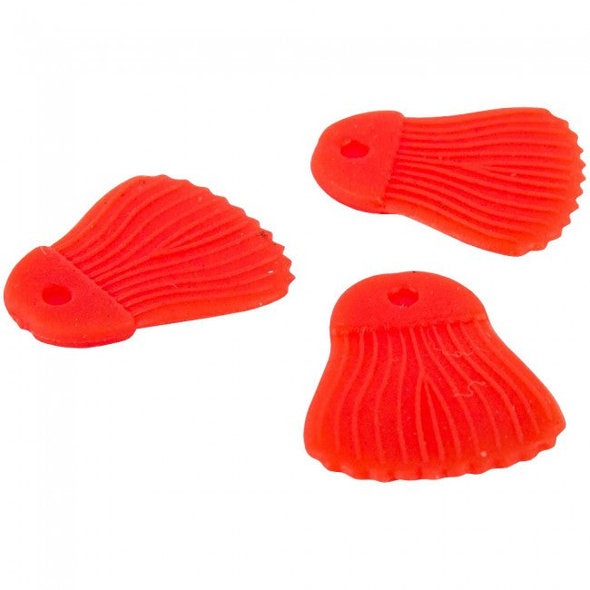 Fox Rage Predator Bait Fins (Red) - JL Fishing Tackle