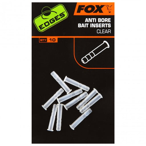 Fox Edges Anti Bore Clear Inserts - JL Fishing Tackle