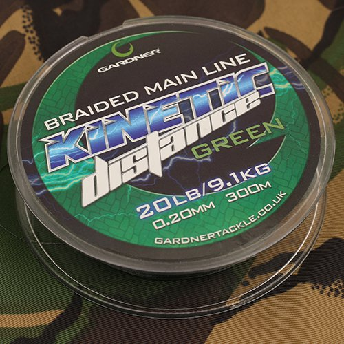 Gardner Kinetic Distance Braided Main Line 300m - JL Fishing Tackle