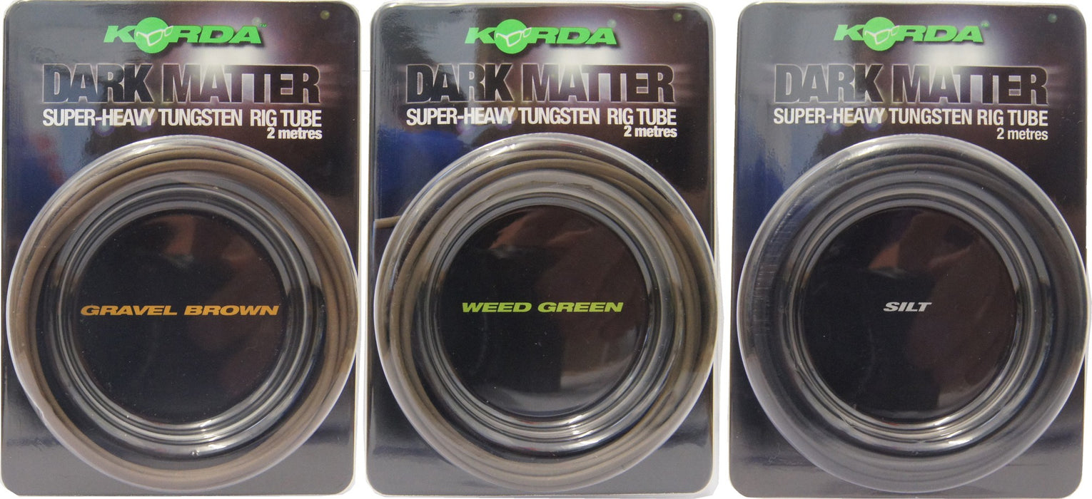 Korda Dark Matter Super-Heavy Tungsten Rig Tube - JL Fishing Tackle