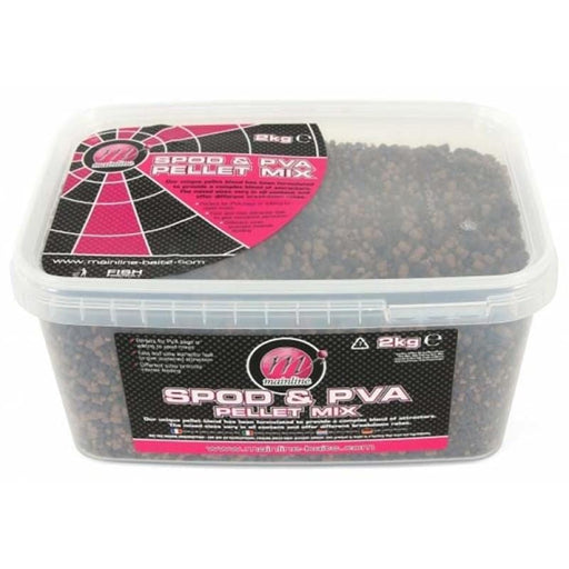MAINLINE SPOD & PVA PELLET MIX - JL Fishing Tackle
