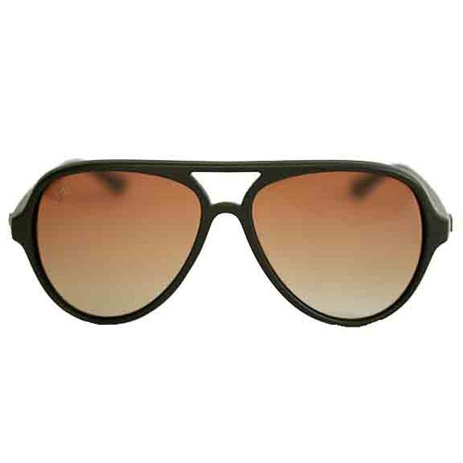 Fortis Aviator Matte Black Sunglasses