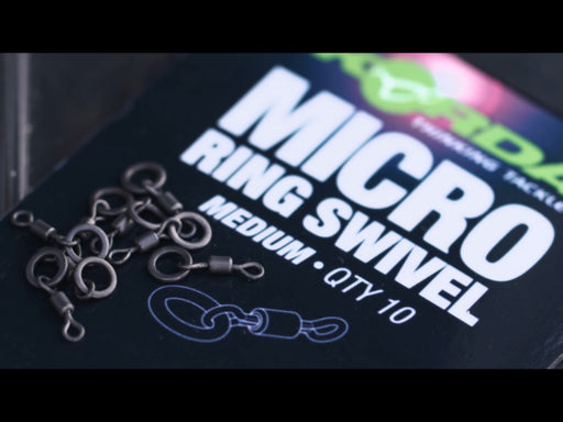 Korda Micro Rig Ring Swivels - JL Fishing Tackle