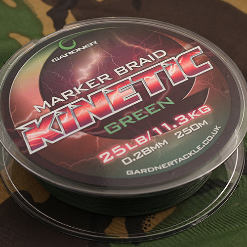 Gardner Kinetic Marker Braid 300m - JL Fishing Tackle