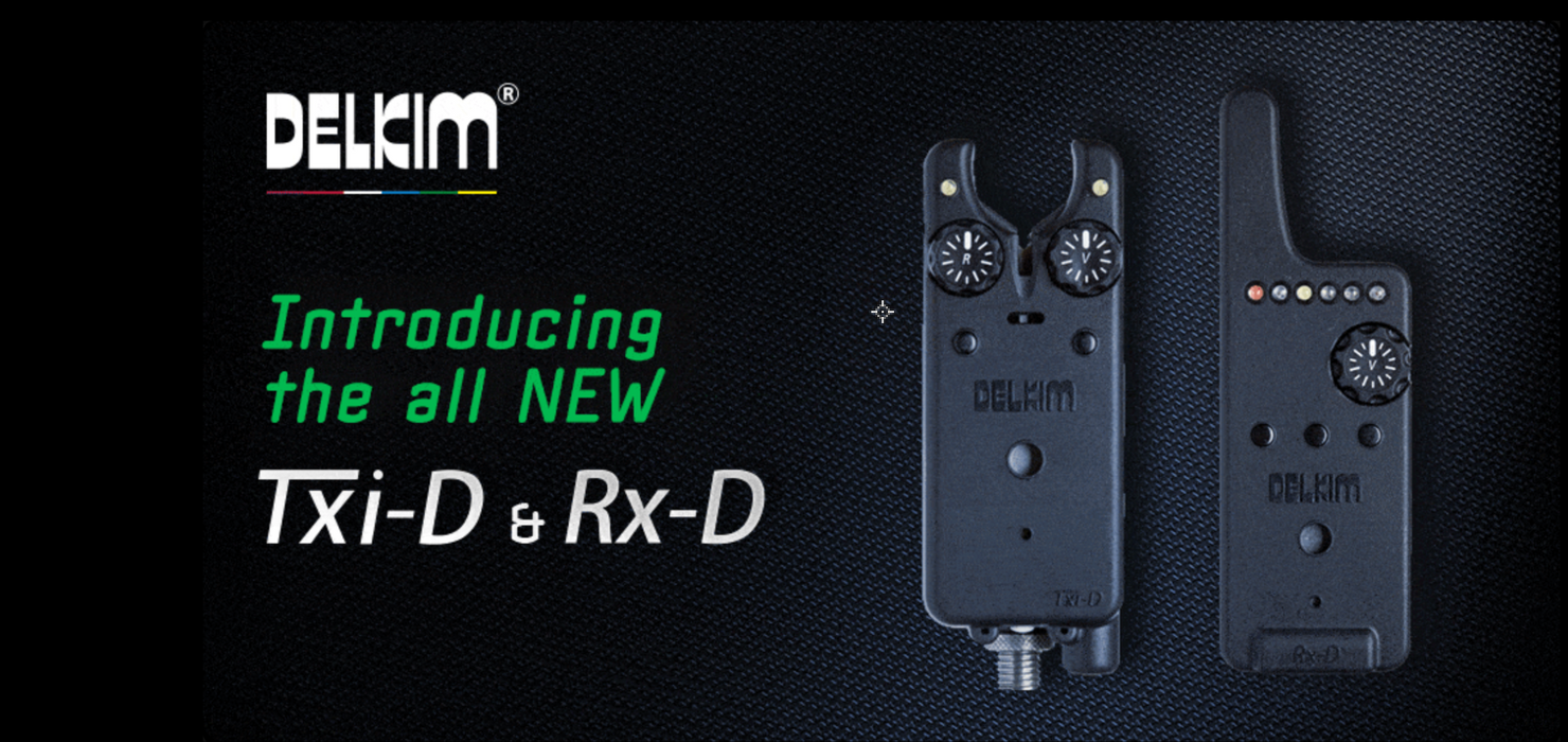 Delkim New Txi-D Alarms - JL Fishing Tackle