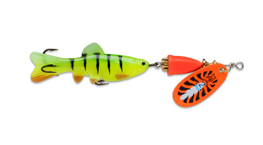 Blue Fox Vibrax Chaser - Orange Tiger - JL Fishing Tackle