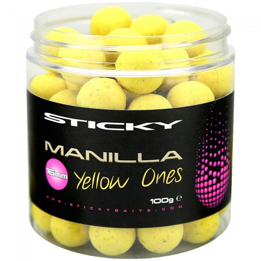 Sticky Baits Manilla Yellow Ones Pop-ups & Wafter - JL Fishing Tackle