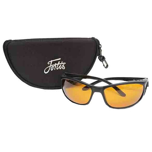 Fortis Wraps Amber AM/PM Polarised Sunglasses - JL Fishing Tackle