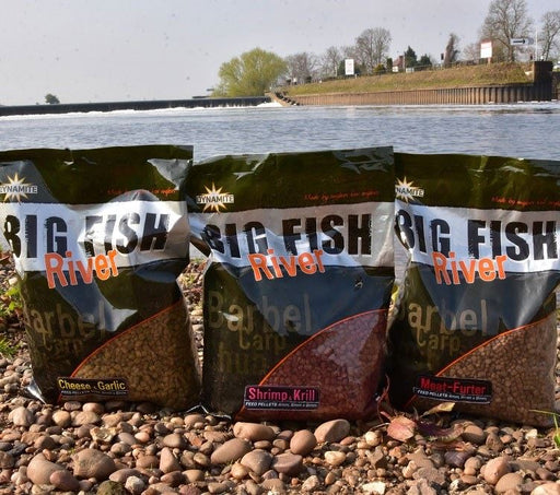Dynamite Big Fish River Garlic & Cheese Pellets - JL Fishing Tackle