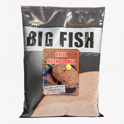 Dynamite Big Fish Krill Method Mix - JL Fishing Tackle