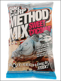 Bait Tech Big Carp Method Mix Sweet Coconut - JL Fishing Tackle