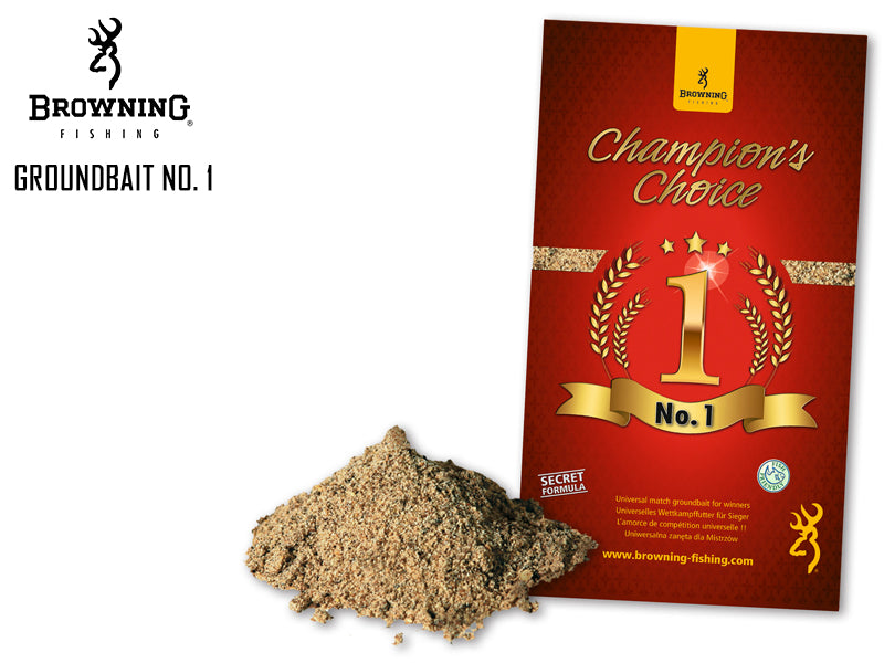 Brownings Champions Choice Groundbait No 1