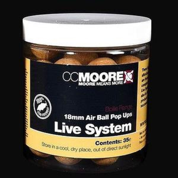 CC Moore Air Ball Pop Ups Live System - JL Fishing Tackle