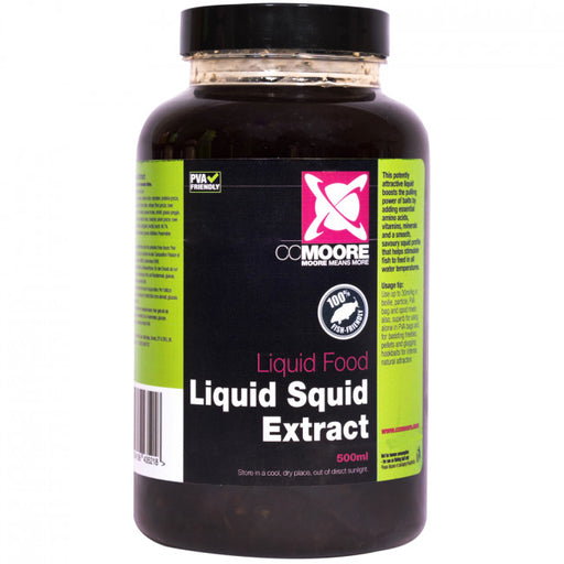 CC Moore Liquid Squid Extract 500ml - JL Fishing Tackle