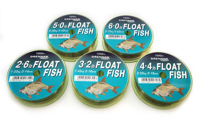 Drennan Float Fish Line 100m - JL Fishing Tackle