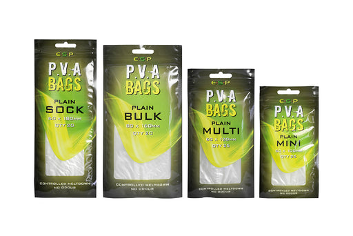 ESP PVA BAG Plain - JL Fishing Tackle