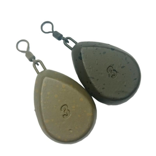 Korda Flat Pear Swivels - JL Fishing Tackle