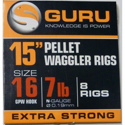 Guru Pellet Waggler Rigs - JL Fishing Tackle