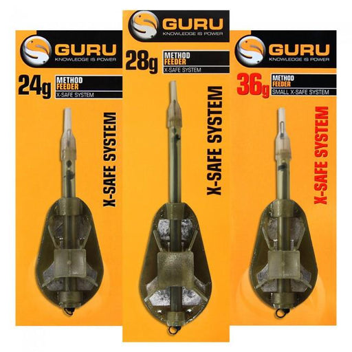 Guru X-SAFE SYSTEM Method Feeder - JL Fishing Tackle