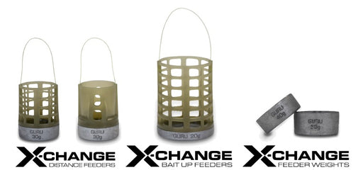 Guru X Change Distance Feeders - JL Fishing Tackle