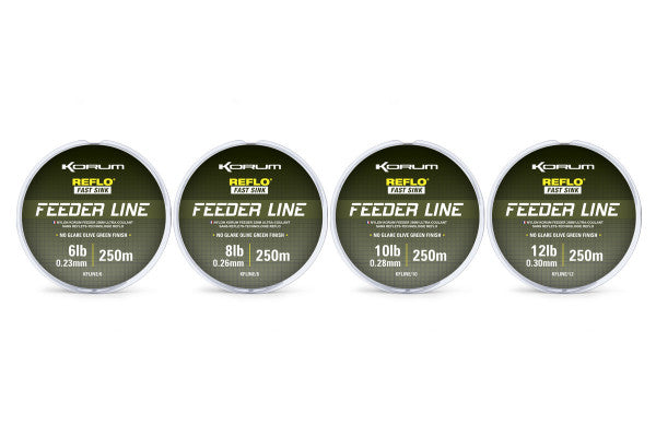 Korum Feeder Line 250m - JL Fishing Tackle