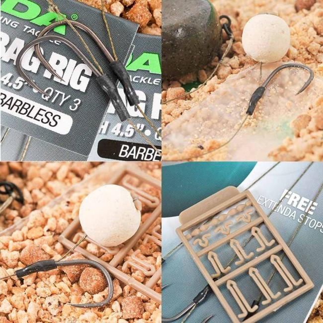 Korda Solidz PVA Rig Barbed - JL Fishing Tackle