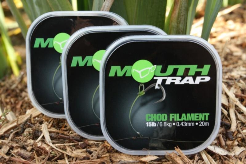 Korda Mouthtrap Chod Filament - JL Fishing Tackle