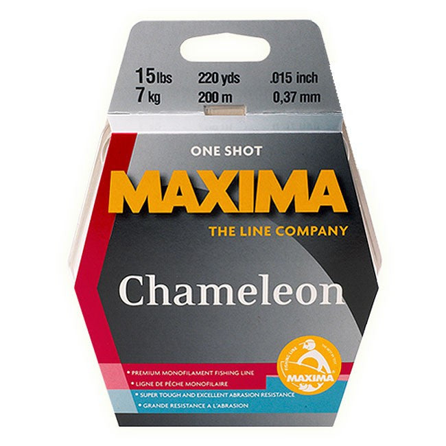 Maxima Chameleon – One Shot Spool - JL Fishing Tackle