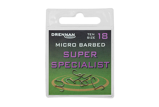 Drennan Super Specialist Hooks - JL Fishing Tackle