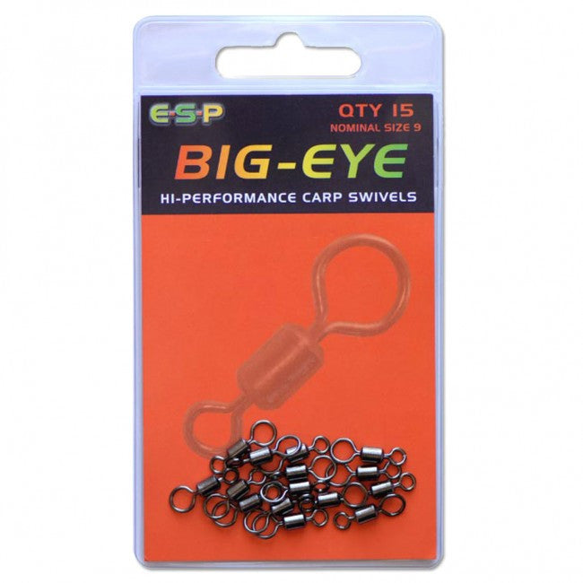 ESP Big Eye Swivels - JL Fishing Tackle