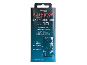 Pushstop Hair Rigs – Carp Method - JL Fishing Tackle