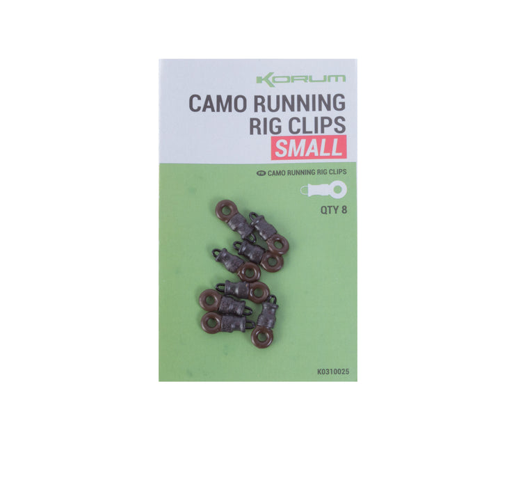 Korum Camo Running Rig Clips - JL Fishing Tackle