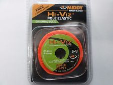 MIDDY Hi-Viz Solid Original Elastic - JL Fishing Tackle