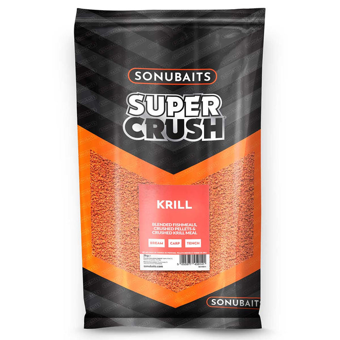 Sonubaits Supercrush Krill Groundbait - JL Fishing Tackle