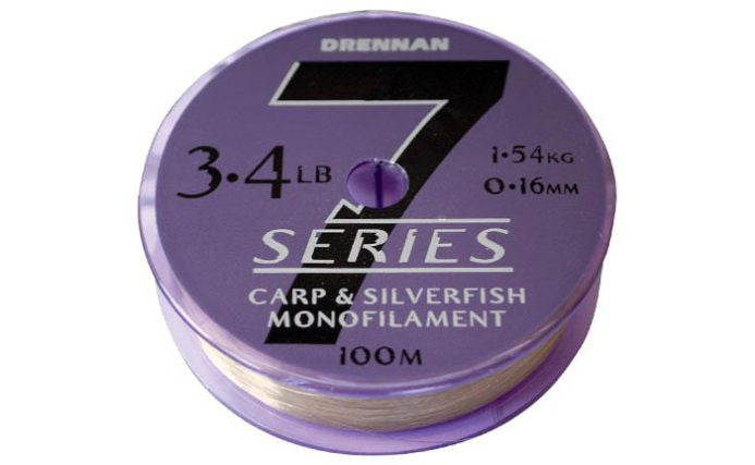 Drennan 7 Series Carp & Silverfish Monofilament - JL Fishing Tackle