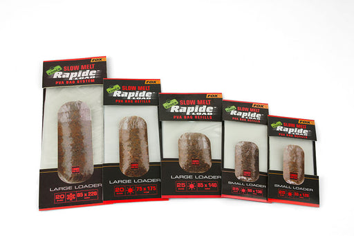 Fox Edges Slow Melt Rapide Load PVA Bag Refills - JL Fishing Tackle