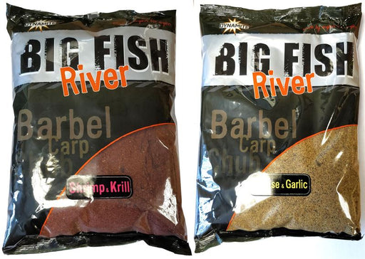 Dynamite Big Fish River Cheese & Garlic Groundbait - JL Fishing Tackle