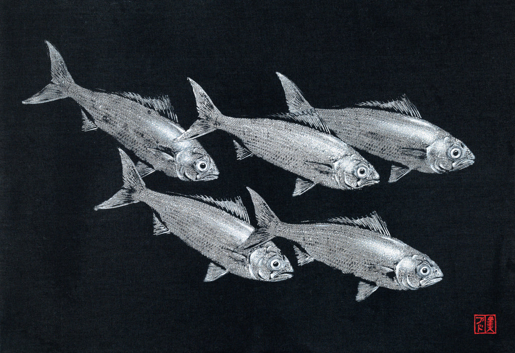 Herring School Print