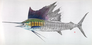LIMITED EDITION - Sailfish Canvas 1/25