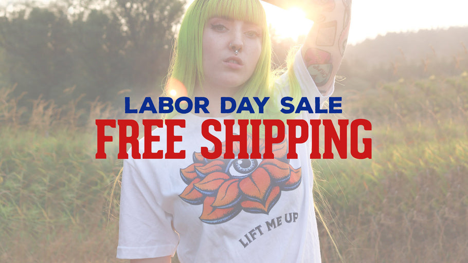 Our Labor Day sale is going on now!