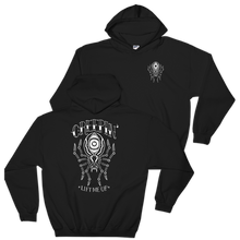 """Creepin"" Hooded Sweatshirt - Lift Me Up - Hand Drawn Patches Pins and Apparel"