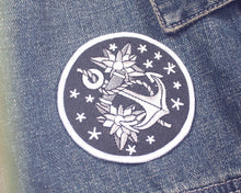 """Anchor"" Patch - Lift Me Up - Hand Drawn Patches Pins and Apparel"