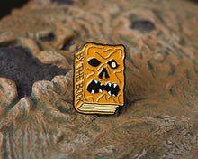 """By the Book"" Enamel Pin - Lift Me Up Apparel"