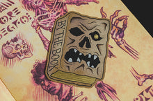 """By the Book"" Paper Sticker - Lift Me Up - Hand Drawn Patches Pins and Apparel"