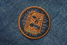 """By the Book"" Patch - Lift Me Up - Hand Drawn Patches Pins and Apparel"