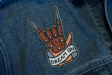 """Dream On"" Patch - Lift Me Up - Hand Drawn Patches Pins and Apparel"