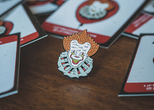 Lift Me Up Apparel - Floater Enamel Pin - Pennywise Pin - Stephen King IT Pin